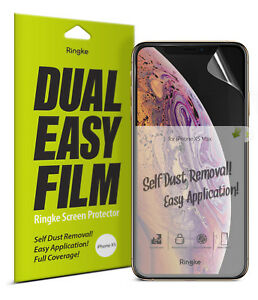For-iPhone-XS-Screen-Protector-Ringke-Dual-Easy-Film-Full-Coverage-Cover-2pc