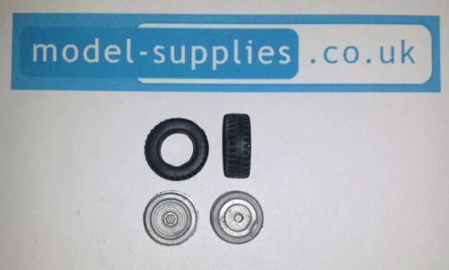 Dinky 103 Spectrum Patrol Car Pair of Reproduction Hubs /& Tyres