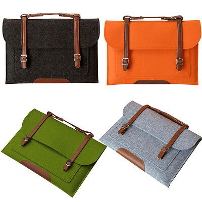 "Laptop Woolen Carry Sleeve Bag Case Cover Skin for MacBook Air Pro 11""13""inch"