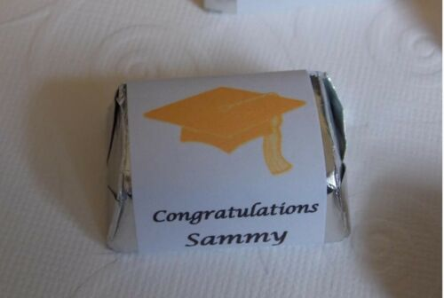 Personalized-Party Favors 240 2019 Graduation Hershey Nugget Wrappers//Labels