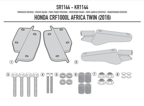 GIVI Verrouillage Support HONDA HONDA CRF 1000 L Africa Twin 16-17