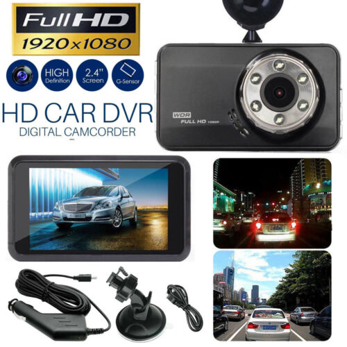 "3/"" Vehicle 4K 1080P Car Dashboard DVR Camera Video Recorder Dash Cam G-Sensor"