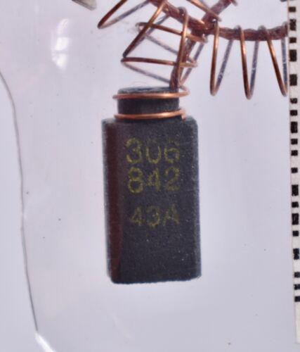 2 Count Ersatzteil-Nr Carbon Motor Brushes 931 306 842  Sealed 306 842 43A