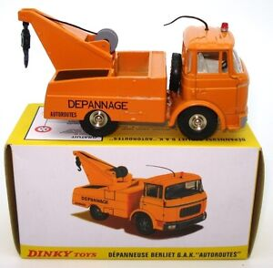 DINKY-FRENCH-NO-589A-BERLIET-TOW-TRUCK-034-DEPANNEUSE-G-A-K-034-MINT-BOXED