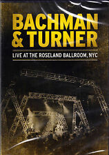 BACHMAN & TURNER live at the roseland ballroom, nyc DVD NEU OVP/Seal