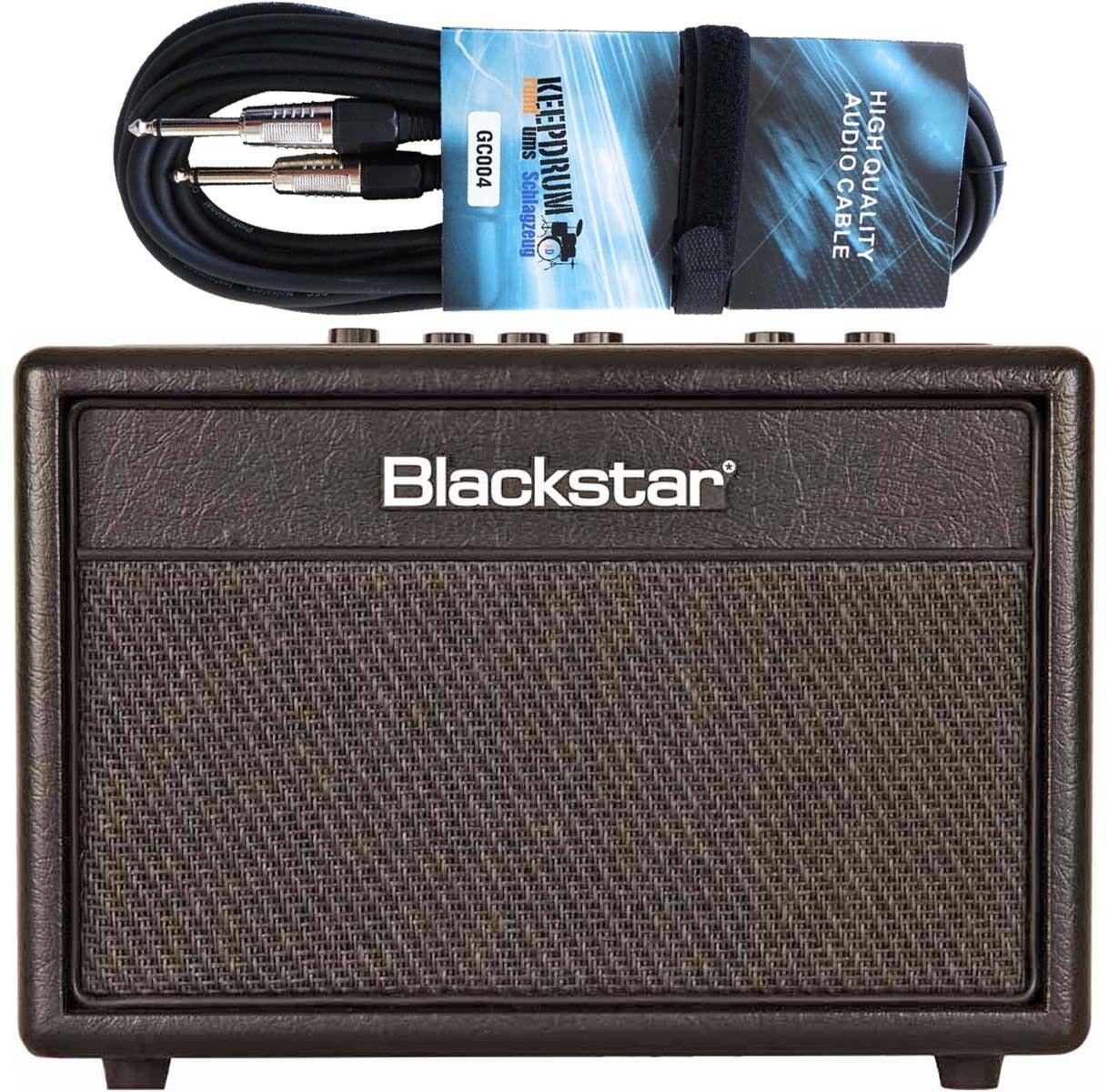 negrostar Id CORE Haz Guitarras Y Bajos Amplificador + Cable Cable Cable De Guitarra 9a2297