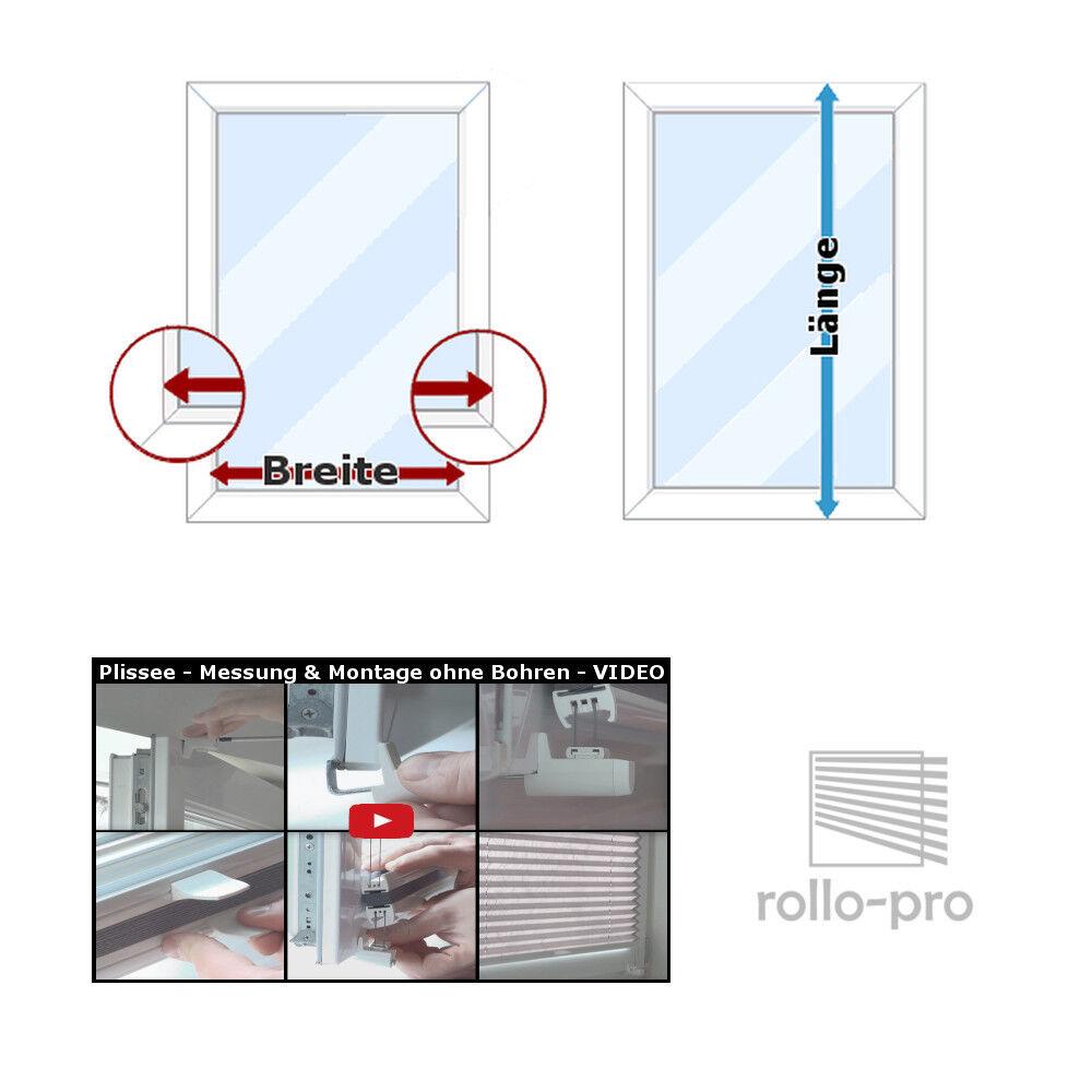 Plissee Faltrollo ohne Bohren nach nach nach Maß   Klemmfix  AJOUR  Profil Anthrazit NEU | Hochwertige Materialien  | Bunt,  45cdb2