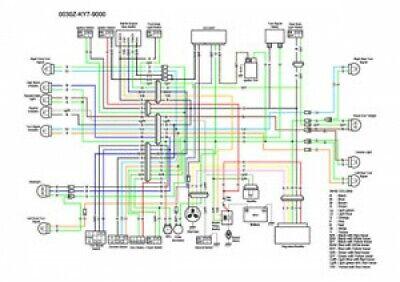 1988 cadillac wiring diagrams 1988 1990 honda nx125 color wiring diagram ebay  1988 1990 honda nx125 color wiring