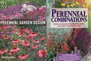 2 Books Perennials Garden Design Combinations Beautiful Gardens
