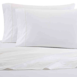 Wamsutta-Damask-500-Thread-Count-PimaCott-TWIN-Sheet-Set-Solid-White