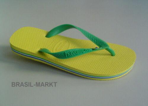37//38 Gr gelb-grün Havaianas NEU Typ Brasil