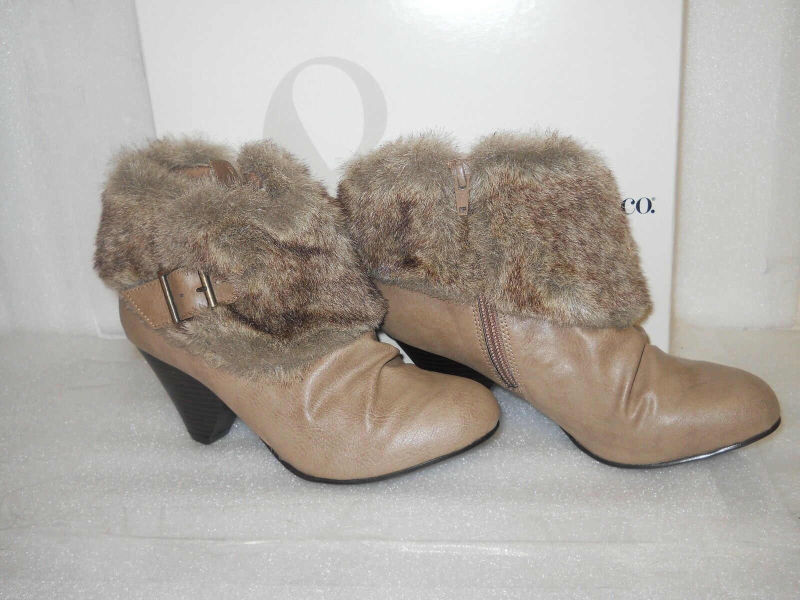 acquista online Style & & & Co New donna Sookie Natural Taupe stivali 5.5 M scarpe NWB  negozio outlet