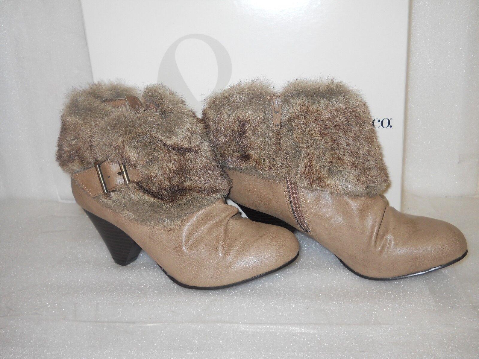 vendita online sconto prezzo basso Style & & & Co New donna Sookie Natural Taupe stivali 5.5 M scarpe NWB  basso prezzo del 40%