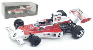 Spark S4359 Mclaren M23 Gp Brésil 1974 - Champion du Monde Emerson Fittipaldi 1/43 9580006943590