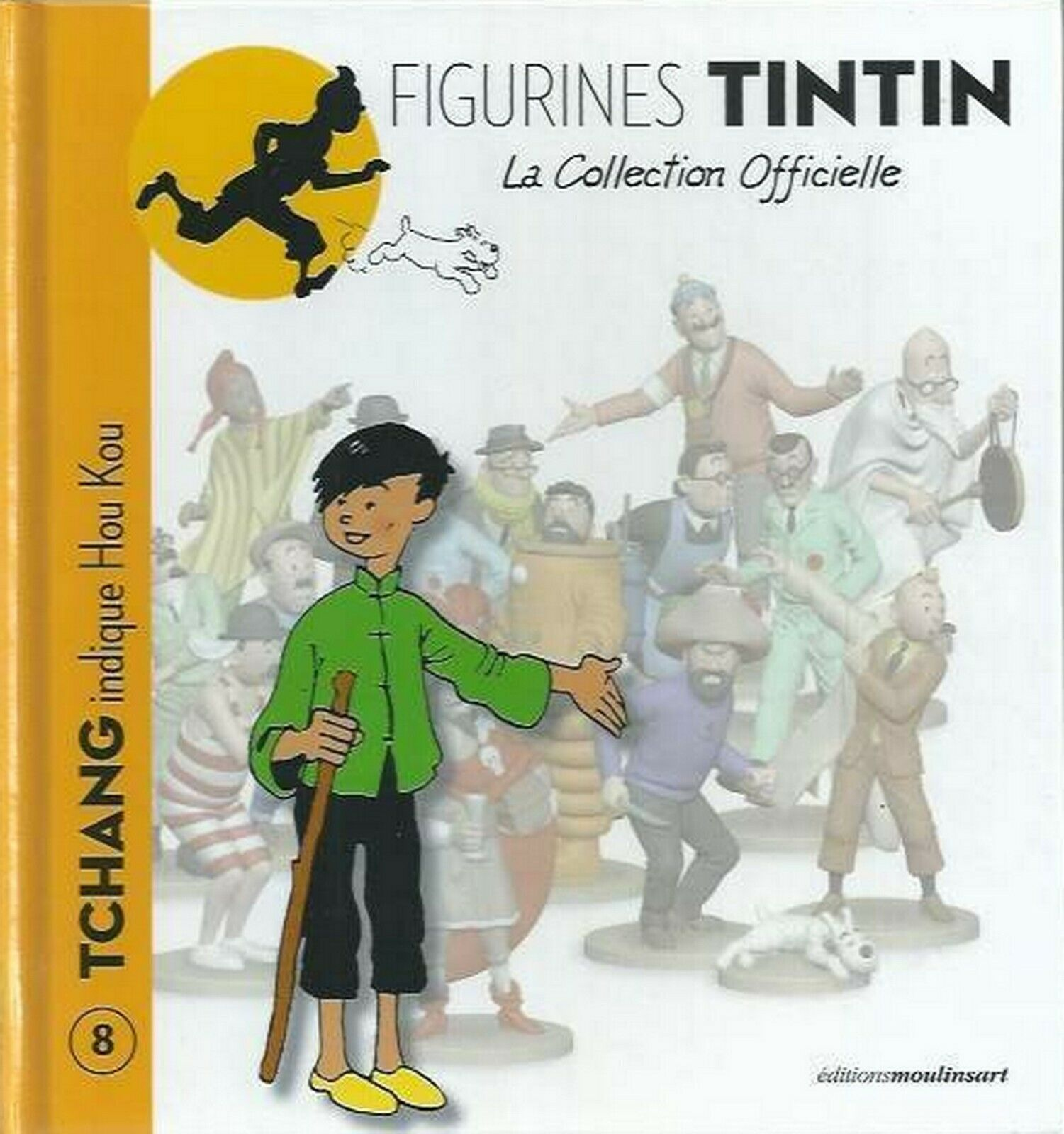 Collection officielle figurine Tintin Moulinsart 47 Bobby Smiles