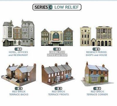 Superquick Card Kits - Series C Low Relief Multi Listing - OO Gauge