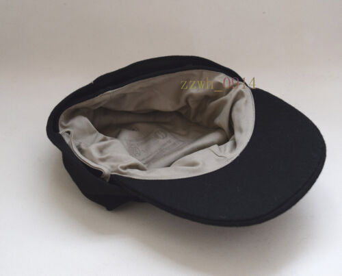 Collectable WWII German WH EM M43 panzer wool field Cap black