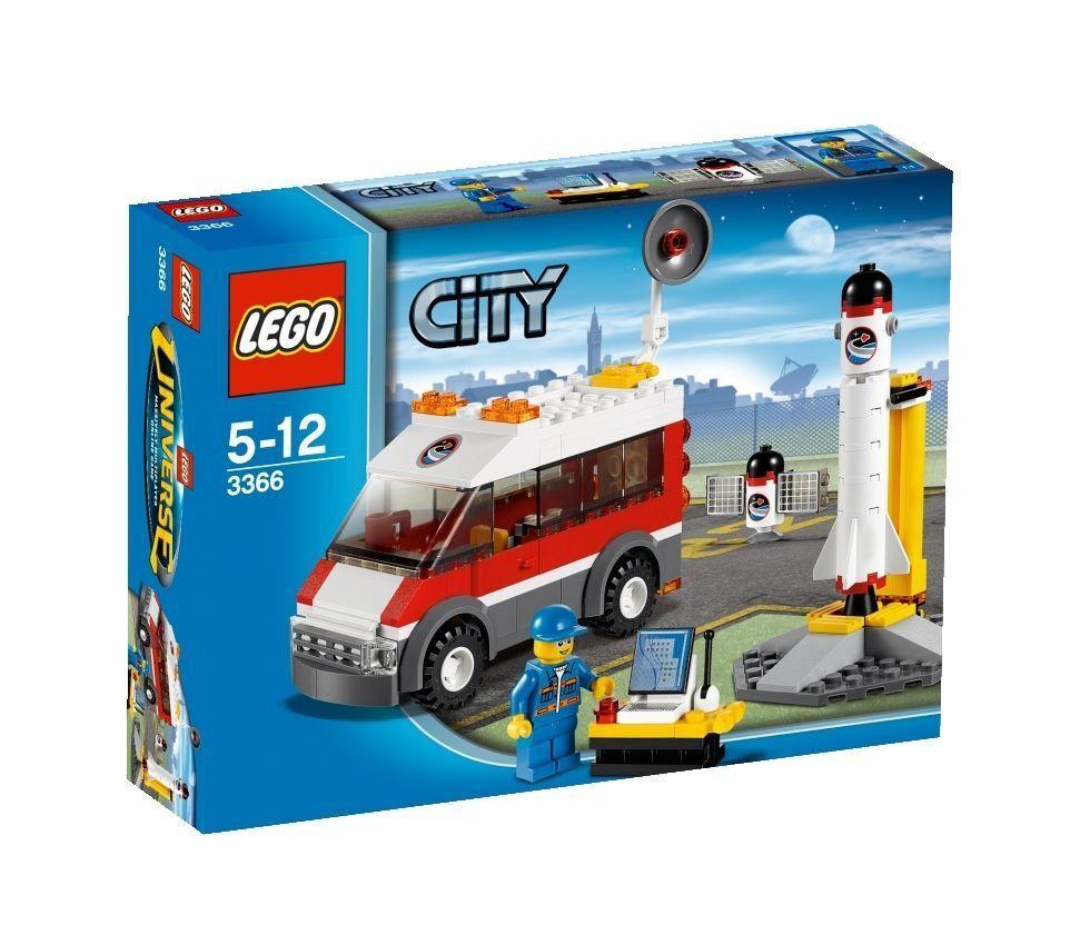 Lego City Satellite rampe de lancement (3366)