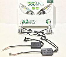 H7 LED Birnen, H7 LED Scheinwerfer Nachrüstung Umrüstung,  360 Grad, 6000 Kelvin