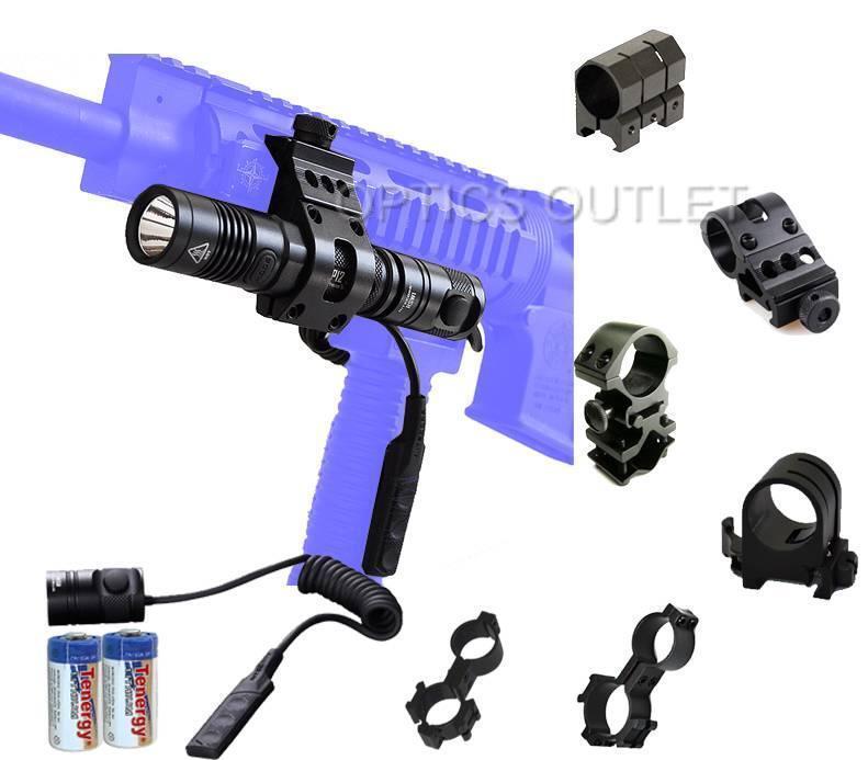 Nitecore P12 1000 Lumens Luz Táctica Led Linterna W   opcional Rifle Mounts