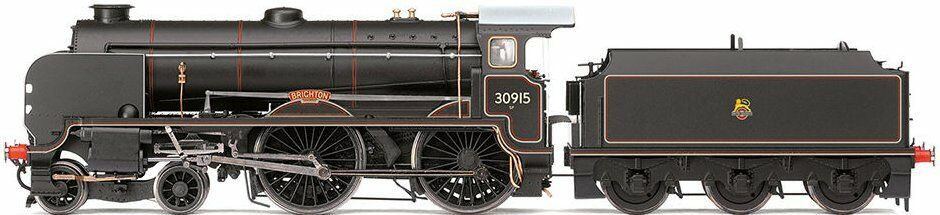 """R3208 HORNBY EARLY EARLY EARLY BR 4-4-0 """"BRIGHTON"""" SCHOOLS classe LOCOMOTIVE & TENDER (nuovo) 4c53e6"""
