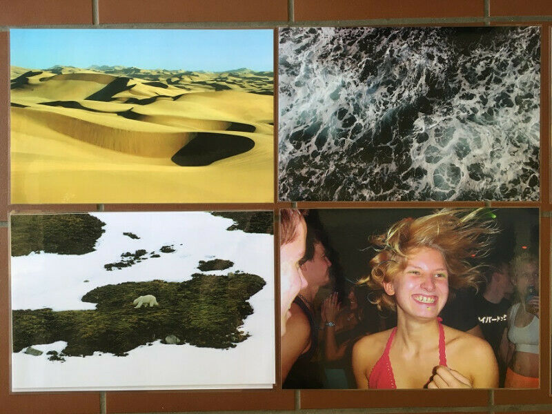 LAMINATED A3 POSTERS: natural scenes, landscapes, PARTIES