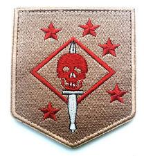 USMC MARINE RAIDERS THE UNITED STATES NARINE CORPS COMMANDOS USA ARMY PATCH s541