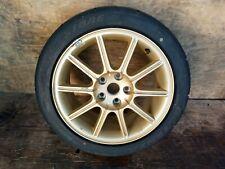 04 07 Subaru Impreza Wrx Sti Gdb Enkei Gold Rim Amp Tire 17x8 Et53 Wheels 5x1143