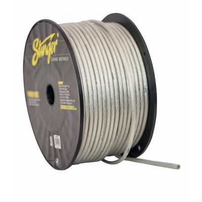 250 Foot Full Spool of Stinger Pro Series Red 8 AWG Gauge Pure Copper Power Wire