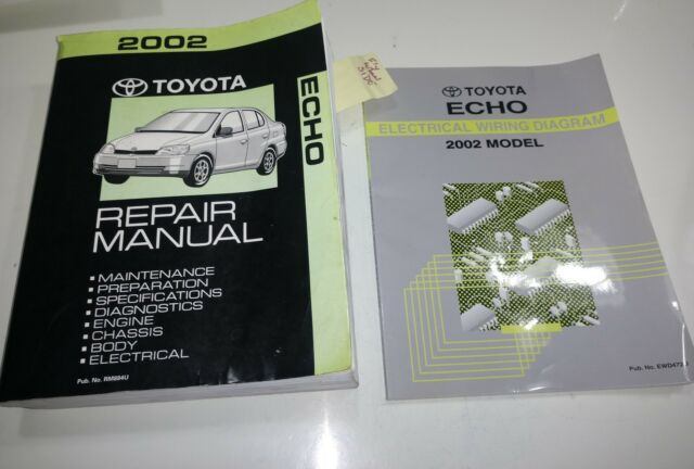 2002 Toyota Echo Repair Manual  U0026 Electrical Wire Wiring