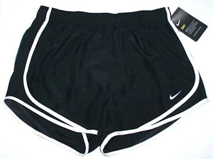 Details about Nwt New Nike Tempo Running Shorts Short Dri fit Inner Panty Black Plus + Women