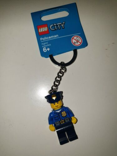 POLICEMAN LEGO CITY 850933 KEY CHAIN - - BNWT