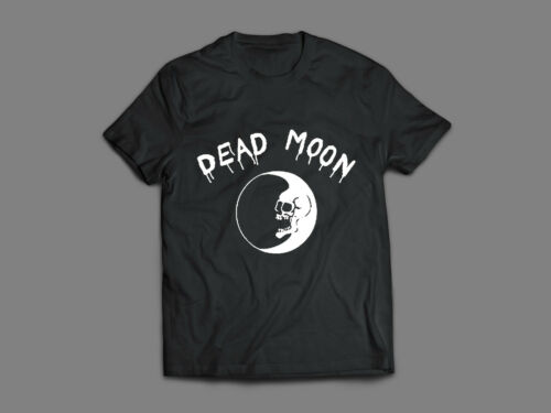 DEAD MOON T-shirt punk garage rock n roll