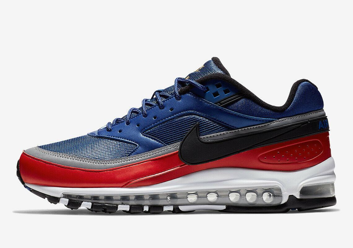 Nike Air Max 97   BW USA OLYMPIC ROYAL blueE RED WHITE AO2406-400 sz 6-12 Men