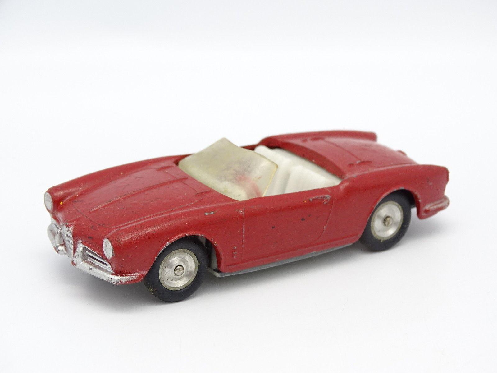 Solido SB 1 43 - Alfa Romeo Giulietta  Spider Rouge  acheter pas cher neuf