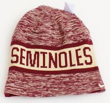 the best attitude 33670 23aac Nike Men s College DNA Beanie Hat Reversible Florida State Seminoles 1 Size
