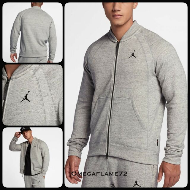 0166909f6b1 jordan wings fleece bomber jacket