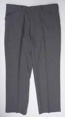 ** Men's Grigio Chiaro Smart Greenwoods Poliestere Pantaloni Girovita 36 Brevi-mostra Il Titolo Originale Design Professionale