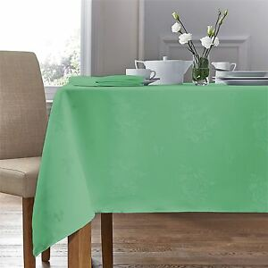 Extra Large Round Table Cloth.Details About Woven Damask Rose Sage Green Circular Round Tablecloth 70 178cm 4 Napkins