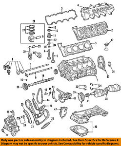 mercedes oem 00 06 s500 engine valve cover 1130100430 ebay rh ebay com