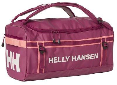 9cae882de7 Helly Hansen NEW Classic Duffel Holdall Bag XS 30L 67166 655 Plum NEW