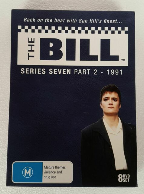 THE BILL SERIES 7 PART 2 dvd ALL REGIONS uk police NEW season seven RARE OOP