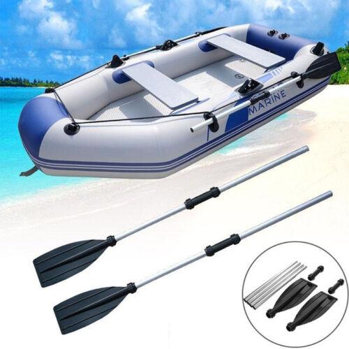 1 Pair Adjustable Length Aluminium Boat Oars Water Paddles Canoe Kayak Dinghy