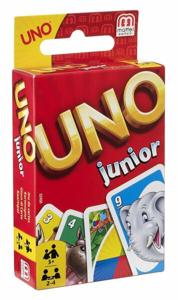 Mattel Uno Junior Card Game Perfect for travelling