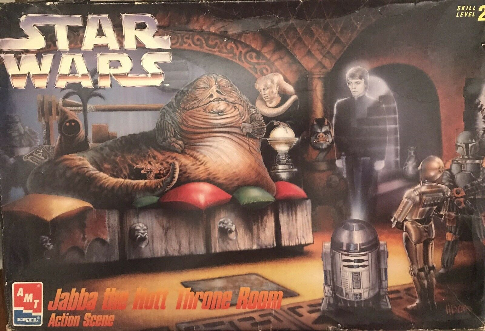 Star Wars - Jabba The Hutt Throne Room - Action scene