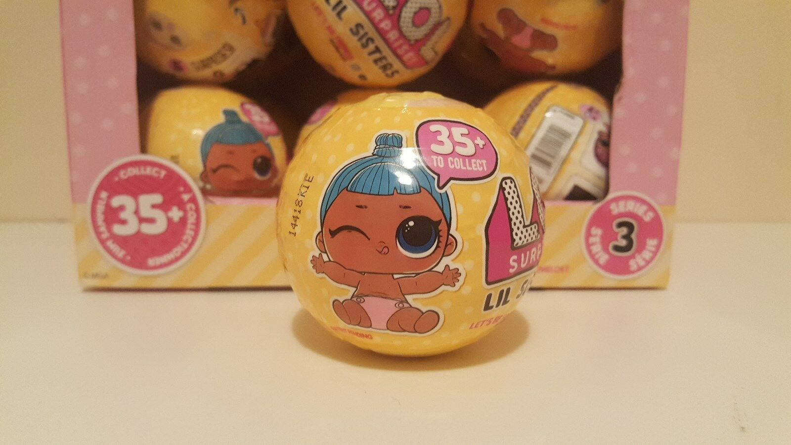 Authentic LOL Surprise SERIES 3 Wave 2 LiL Sisters DOLL IN HAND 1 L.O.L Ball NEW
