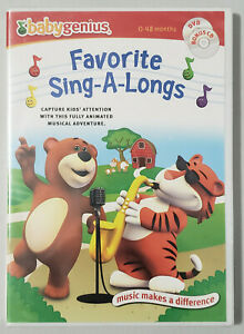Baby-Genius-Favorite-Sing-A-Longs-NEW-DVD-amp-CD-set-Childrens-Music-Rhymes
