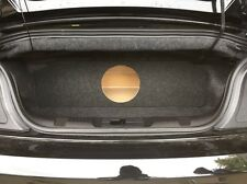 "For a 2015+ Mustang Convertible Custom Sub Box Subwoofer Enclosure - 1 10"""