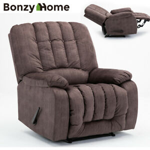 Oversize-Recliner-Chair-Heavy-Duty-Frame-Soft-Fabric-Overstuffed-High-Back-Seat