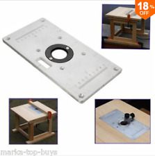 Kreg prs3040 precision router table insert plate levelers ebay 235mm x 120mm x 8mm aluminum router table insert plate for woodworking benches greentooth Image collections